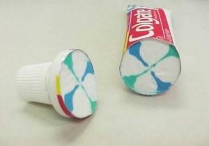 ยาสีฟันที่คุณบีบออกมาเป็นลายๆ มันเรียงกันอยู่แบบนี้