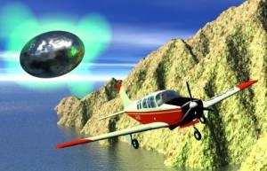 การหายไปของนักบินแบบไร้ร่องรอยขณะบินอยู่กับยูเอฟโอ
